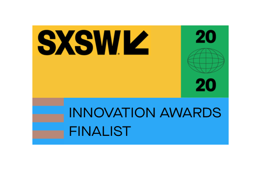 Awards section SXSW Innovation Awards Finalists